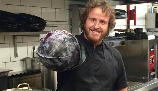 Geoffrey Thielen cuisinier au restaurant Chez M