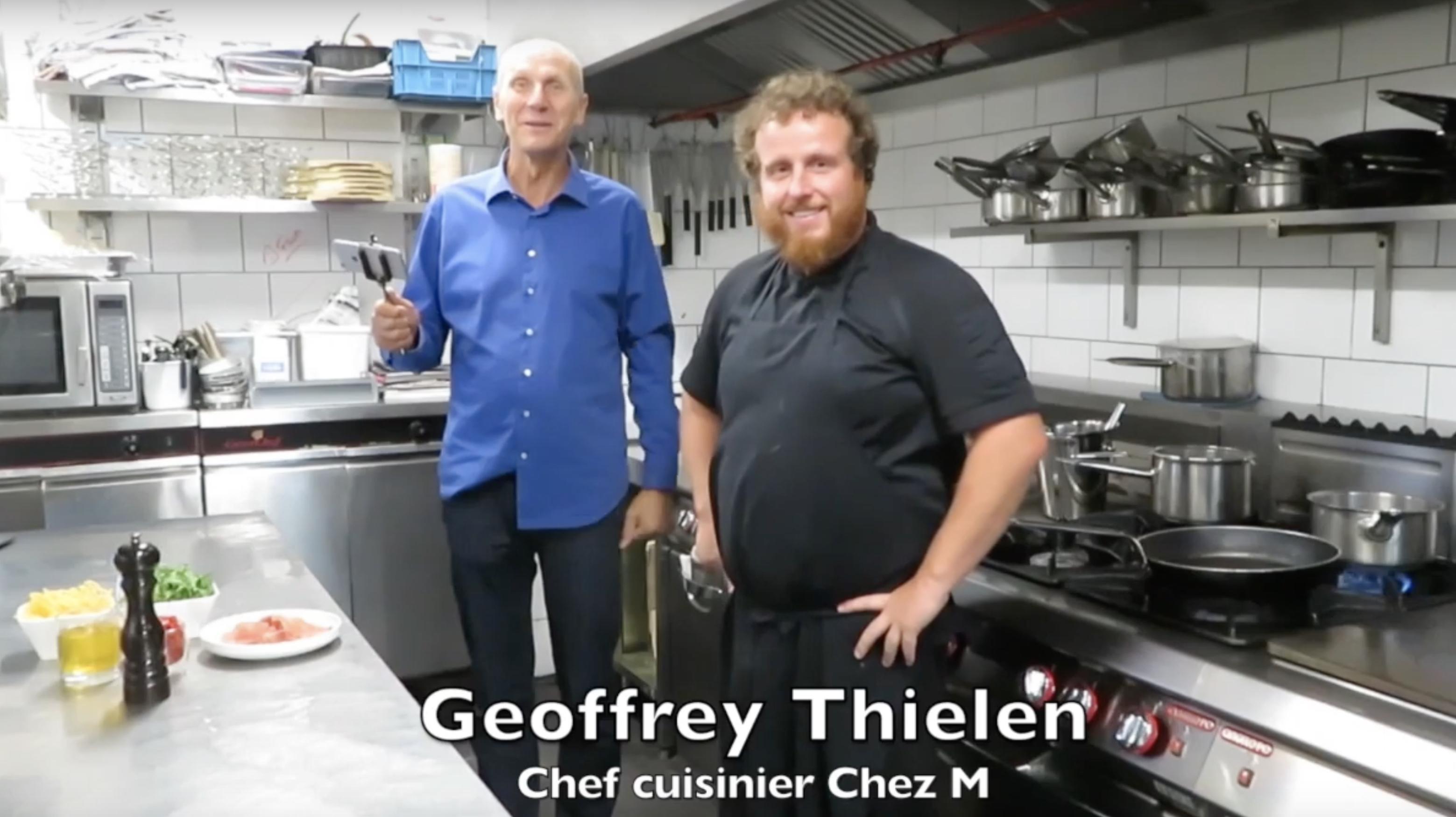 La Recette : Spaghetti au jambon de Parme, tomates séchées, roquette et parmesan