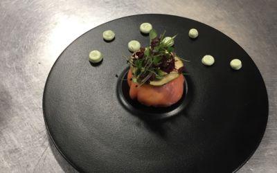 La recette : Ballottine de saumon fumé