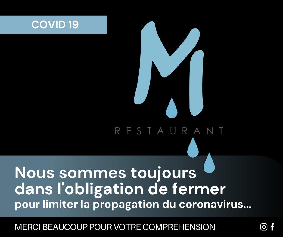 COVIDA 19 - Restaurant Chez M